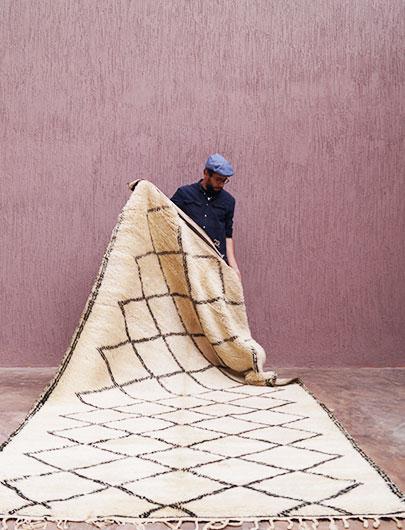 Original Beni Ourain Rug