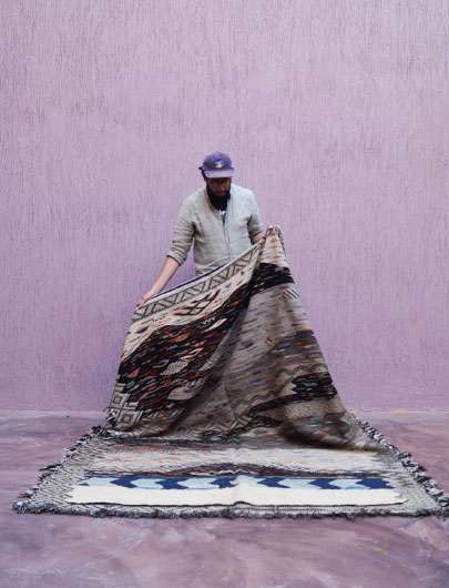Kilim from Morocco