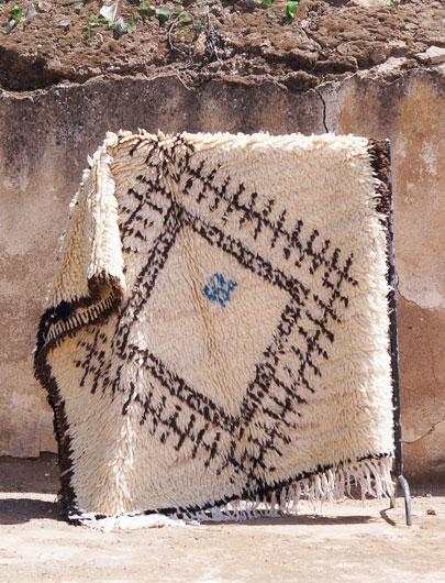 Beni-Ourain Vintage Rug