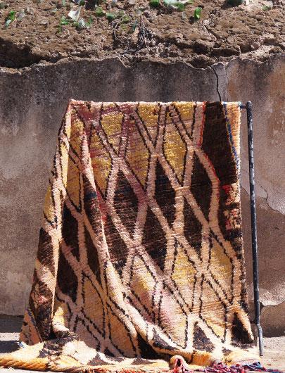 Vintage Taznakht Rug