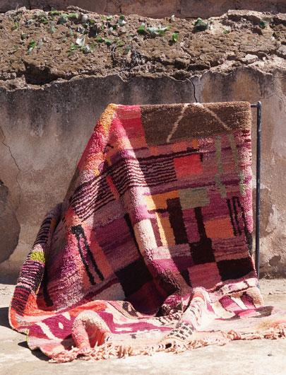 Vintage Boujad Rug