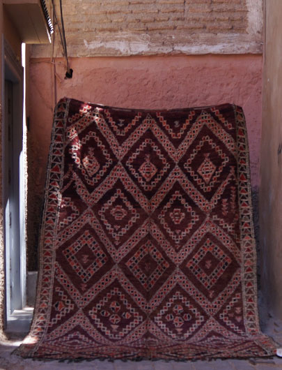 Vintage Rug from Beni M'guild