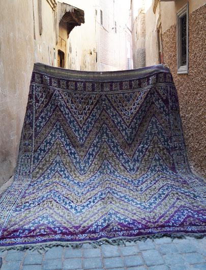Beni Mguild Vintage Rug