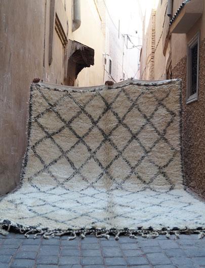 Vintage BEni-Ourain Rug