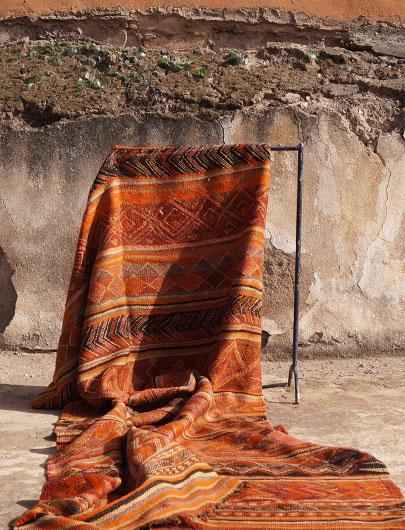 Vintage Kilim from Taznakht