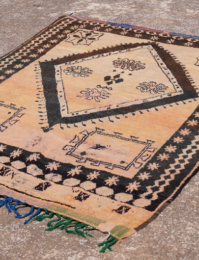 Moroccan rug from Taznakht